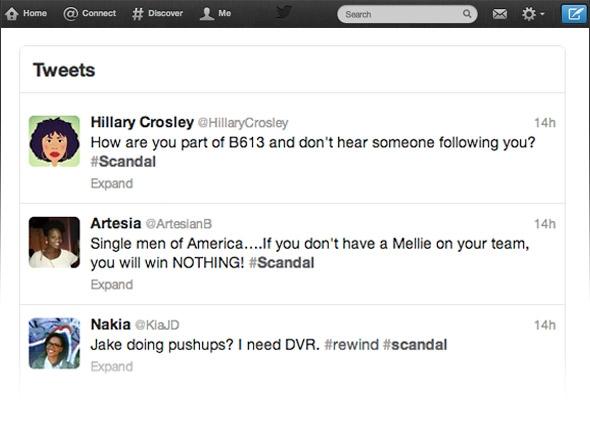 #Scandal Twitter Convos