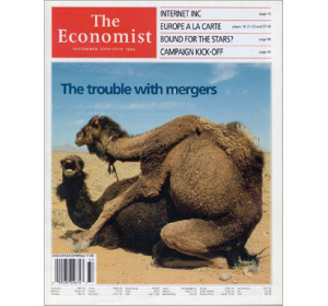 The Economist worried M & As were too common -- 20 years ago
