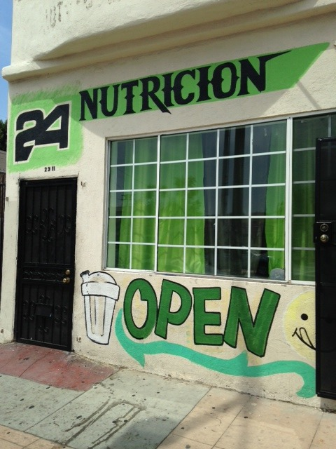 A Herbalife club in Boyle Heights. | Daina Beth Solomon