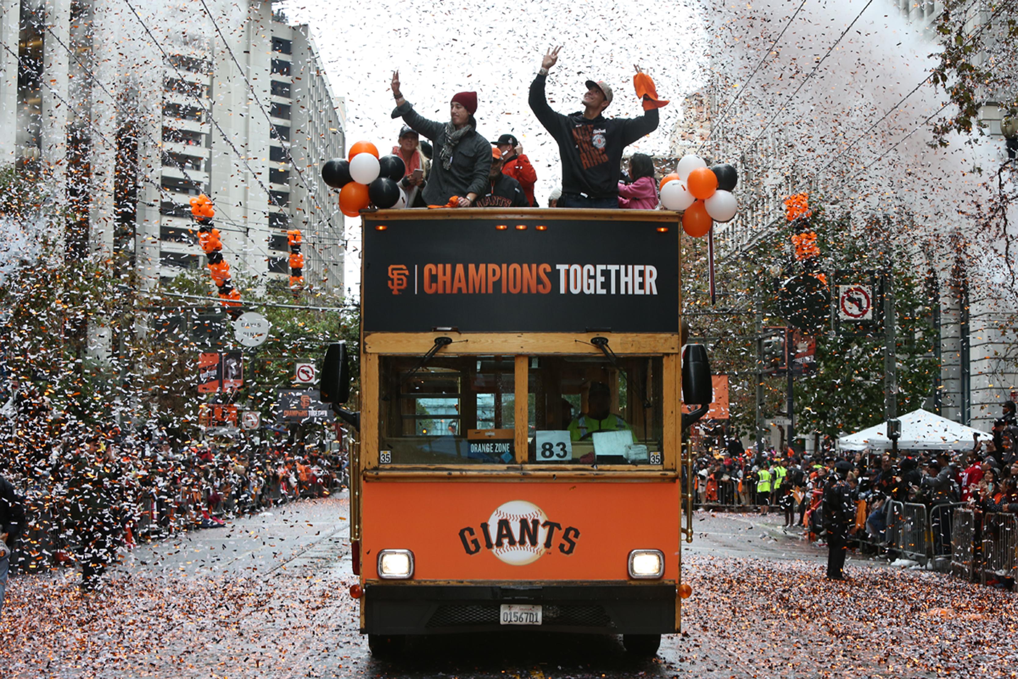 San Francisco Giants 2014 World Series victory parade