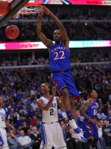 The NBA age limit allows the NCAA to bolster its ratings with freshman phenoms like Andrew Wiggins