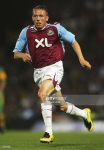NORWICH, UNITED KINGDOM - JULY 31: Craig Bellamy of West Ham United in action during the Pre Season Friendly match between Norwich City and West Ham United at Carrow Road on July 31, 2007 in Norwich, England. (Photo by Matthew Lewis/Getty Images) *** Local Caption *** Craig Bellamy